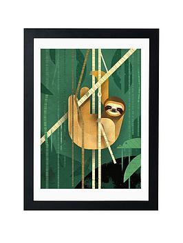 East End Prints Sloth By Dieter Braun - A3