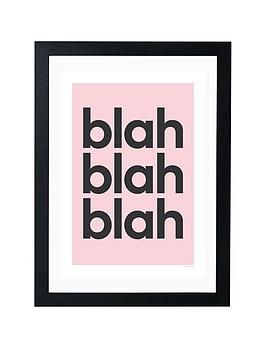 East End Prints East End Prints Blah Blah Blah By Gayle Mansfield Picture