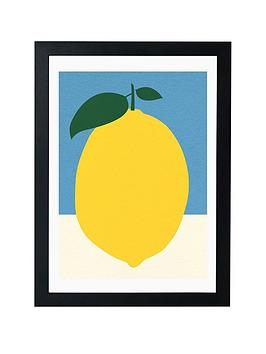 East End Prints East End Prints Yellow Lemon By Rosi Feist Picture