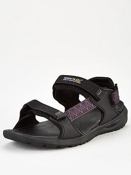Regatta Regatta Marine Web Sandal - Black Picture
