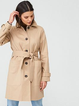 WHISTLES Whistles Classic Trench Coat - Neutral Picture