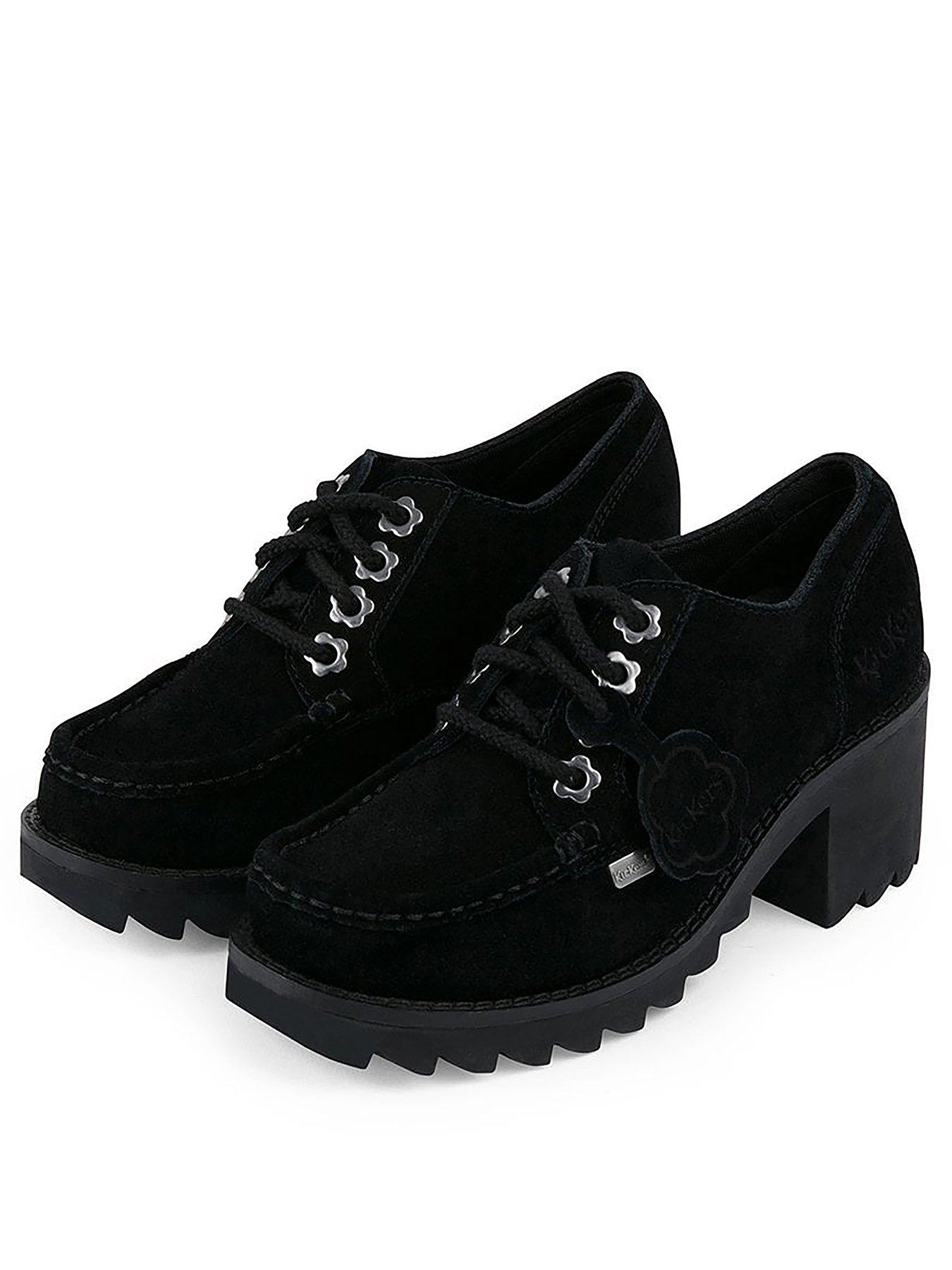 Boys Teenage School Shoes NEW Young Adult Black Smart Uniform Leather All Size