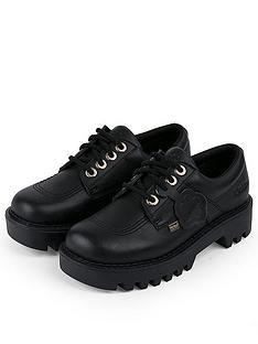 kickers-kizziie-derby-flat-shoes-black
