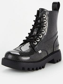Kickers Kickers Kizziie Higher Ankle Boots - Black Picture