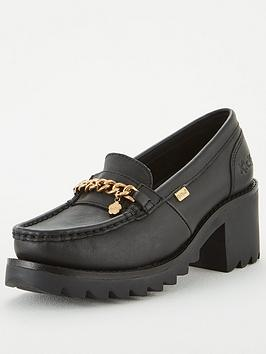 Kickers Kickers Klio Chain Heeled Loafer - Black Picture