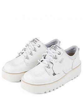 Kickers Kickers Kick Lo Cosmik Flat Shoe - White Picture