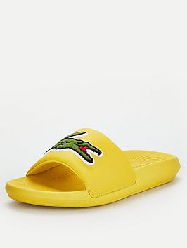 Lacoste Lacoste Croco Slide 120 Slide - Yellow Picture