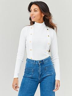 michelle-keegan-button-side-turtle-neck-jersey-top-ivory