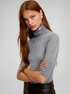 mango-lurex-roll-neck-jumper-silver