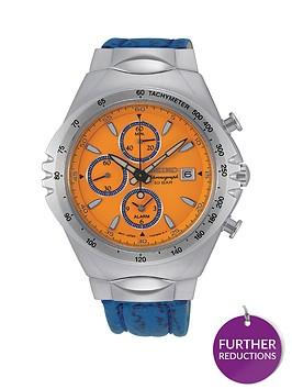 seiko-seiko-macchina-sportiva-orange-and-blue-detail-chronograph-dial-blue-silicone-strap-mens-watch