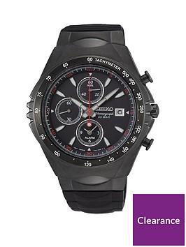 seiko-seiko-macchina-sportiva-black-chronograph-dial-black-silicone-strap-mens-watch