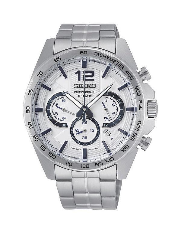 Seiko Chronograph bracelet watch