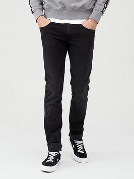 Replay Replay Anbass Hyperflex Jeans - Black Picture