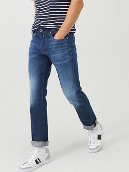 Replay Replay Eco Grover Straight Fit Jeans - Mid Wash Picture