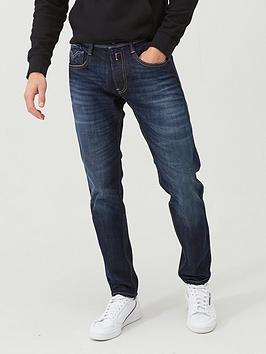 Replay Replay Anbass Slim Fit Jeans - Dark Indigo Picture