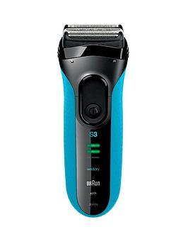 Braun   Series 3 340S4 Foil Wet And Dry Shaver