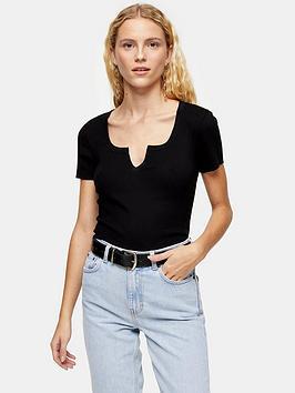 topshop-petite-2-pack-notch-t-shirt-multi