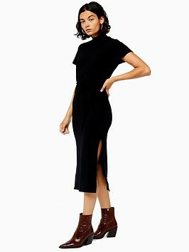 topshop-chuck-on-cut-and-sew-midi-dress-black