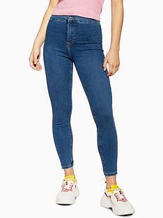 topshop-petite-joni-jeans-blue