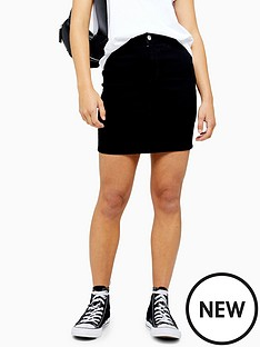 topshop-petite-joni-skirt-black