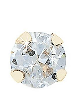 Love DIAMOND Love Diamond 9 Carat Yellow Gold Diamond Nose Stud Picture
