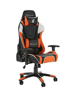 x-rocker-agility-pc-office-gaming-chair-orange