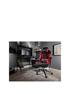 x-rocker-siena-pc-office-gaming-chair-redblack-fabric