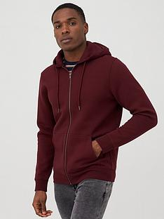 v-by-very-zip-through-hoodie-burgundy