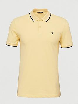very-man-tipped-pique-polo-topnbsp--yellow