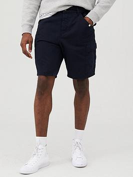 V by Very V By Very Cargo Shorts - Navy Picture