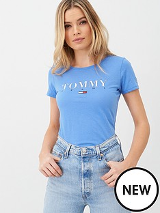tommy-jeans-essential-slim-logo-t-shirt-blue