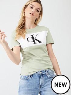 calvin-klein-jeans-monogram-ck-t-shirt-sage