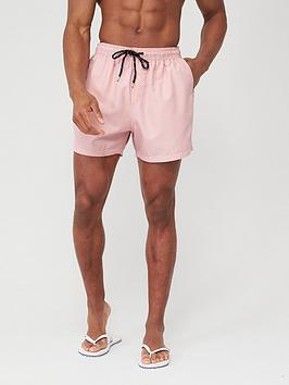 V by Very V By Very Basic Swimming Shorts - Pink Picture
