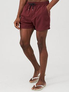 V by Very V By Very Basic Swim Shorts - Burgundy Picture