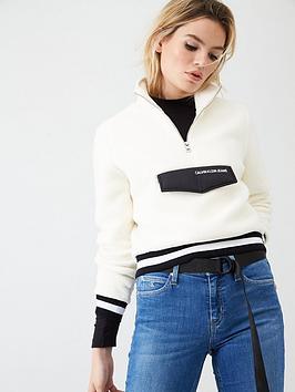 Calvin Klein Jeans Calvin Klein Jeans Sherpa Half Zip Jumper Picture