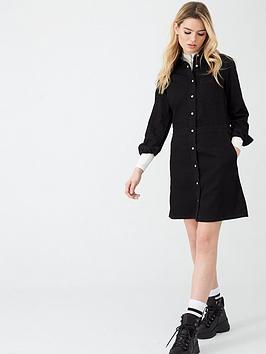 Calvin Klein Jeans Calvin Klein Jeans Long Sleeve Desert Dress - Black Picture