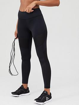 Reebok Reebok Workout Ready Mesh Tight - Black Picture