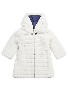 mamas-papas-faux-fur-toggle-coat-cream