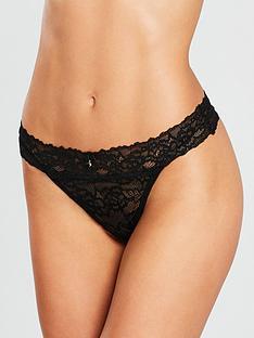 ann-summers-sexy-lace-demi-thong-black