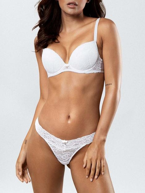 ann-summers-sexy-lace-plunge-bra-white