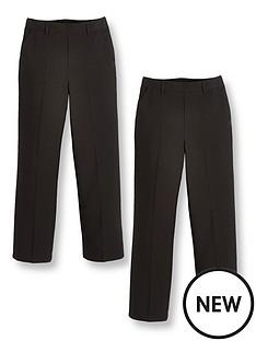 v-by-very-boys-2-packnbsppull-on-school-trousers-black