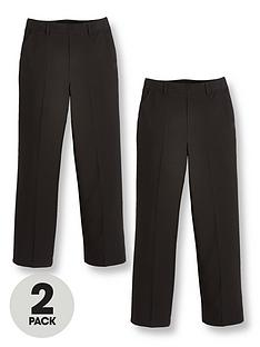 v-by-very-boys-2-packnbsppull-on-school-trousers