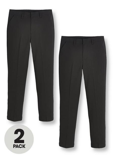 v-by-very-boys-2-packnbspskinny-fit-school-trousers-black