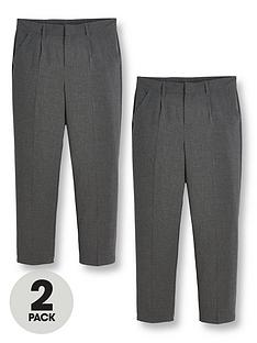 v-by-very-boys-2-pack-classic-woven-plus-school-trousers-grey