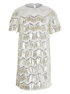river-island-girls-sequin-t-shirtnbspdressnbsp--silver