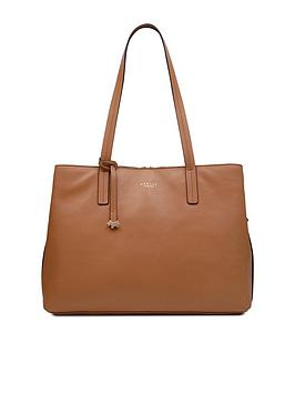 radley-dukes-place-large-open-top-workbag-dark-butter
