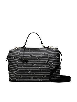 radley-oilskin-medium-zip-around-multiway-bag-black