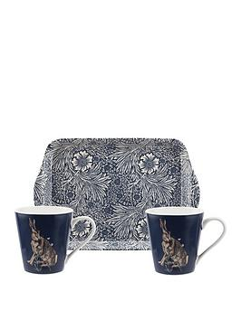 Morris & Co Morris & Co Wightwick Mug And Tray Set Picture
