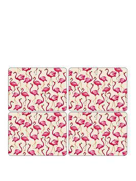Sara Miller Sara Miller Flamingo Placemats &Ndash; Set Of 4 Picture