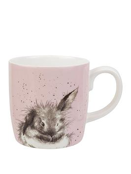 Royal Worcester Royal Worcester Wrendale Bathtime Rabbit Mug Picture